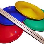 Juggling spinning plates